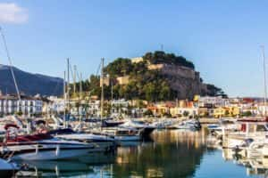 Car hire in Denia
