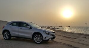 Mercedes Benz car hire Orba