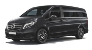 Luxury Mercedes V Class 7 seats car hire Torrellano