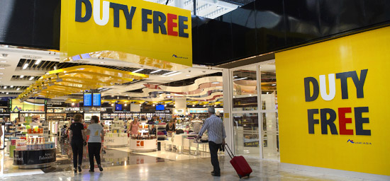 Shops Valencia Airport