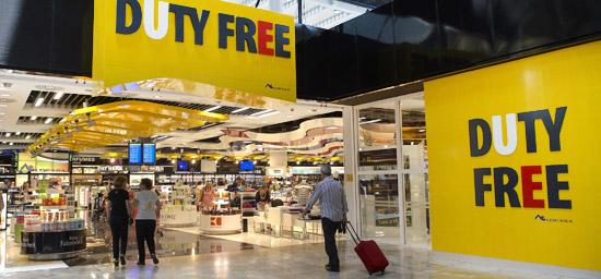 Alicante Flughafengeschäfte